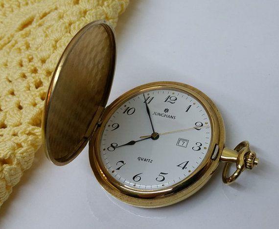 Alte Goldene Taschenuhren Punze 5 000 Junghans Von Schmuckbaron