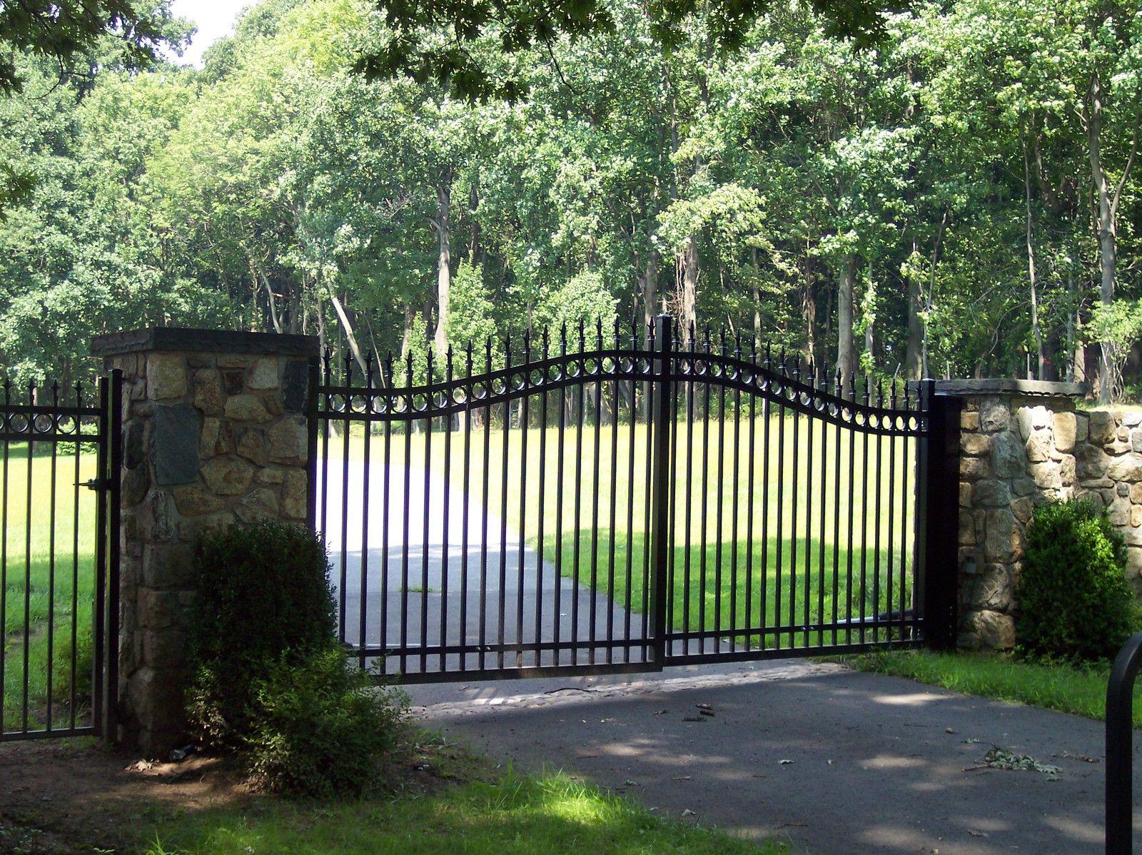 Entrance Gates Md And Sons Fencing Nj Entrance Gates Entrance
