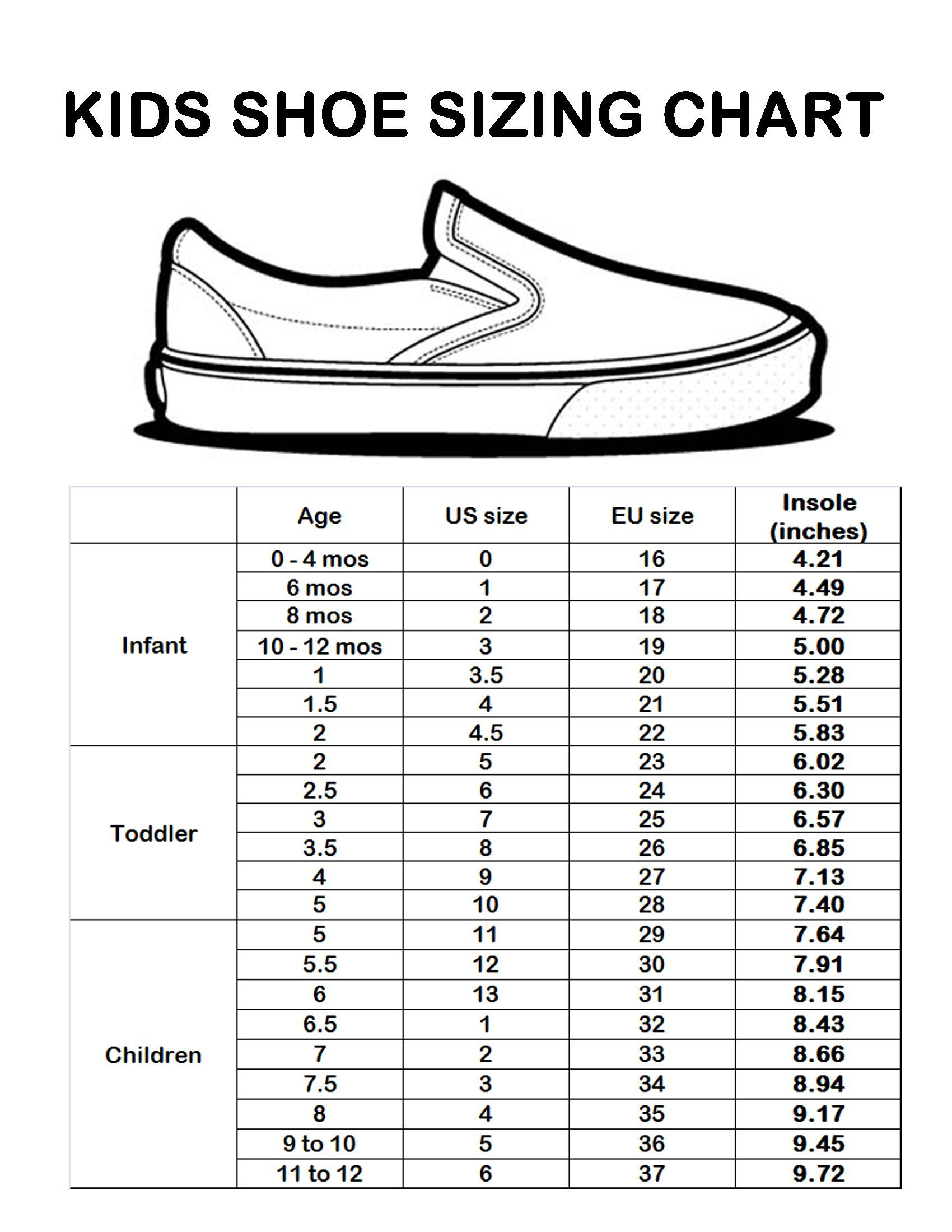 108 Reference Of Baby Shoe Sizes 13 Cm In 2020 Shoe Size Chart Kids Baby Shoe Size Chart Baby Shoe Sizes