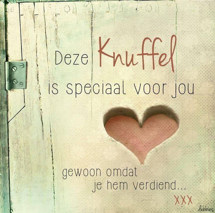 Deze knuffel is speciaal voor jou #knuffelvoorjou