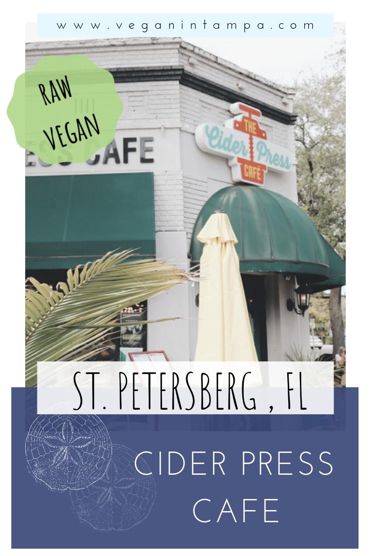 Cider Press Cafe St Petersberg Florida Vegan In Tampa Press Cafe Cider Press Brunch Tampa