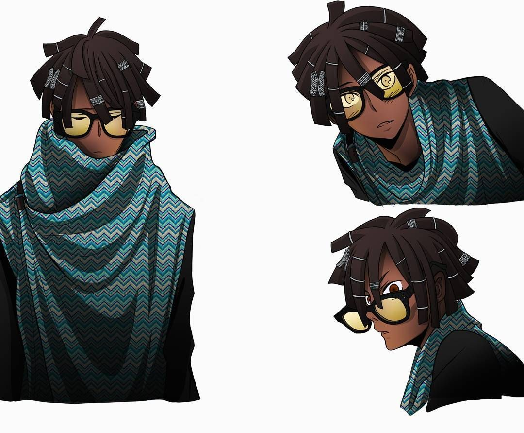 Drawing Hairstyles For Your Characters | Black anime ...