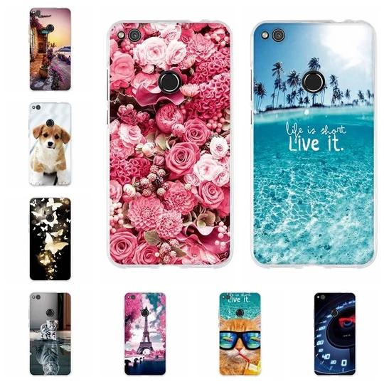 For Funda Huawei P8 Lite 2017 Honor 8 Lite P9 Lite 2017 Case Silic Modlilj Case Phone Case Cover Phone Cases