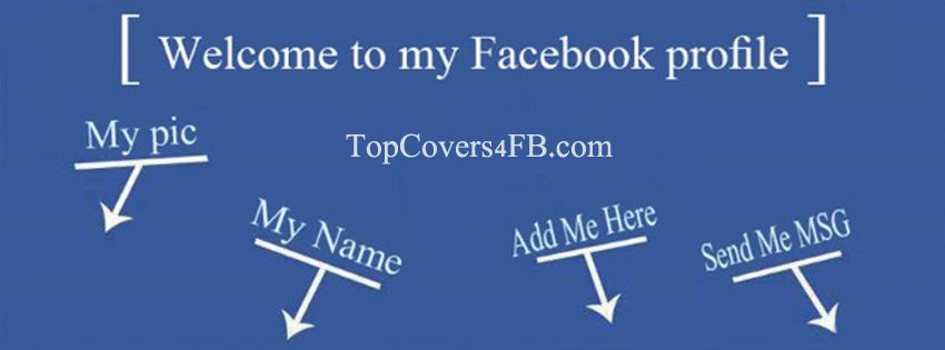 Welcome To My Profile Facebook Cover Awesome Profile Pictures For Facebook Profiles Stylish Photos For Google Plus Twitter Tumblr Topcovers4fb Com