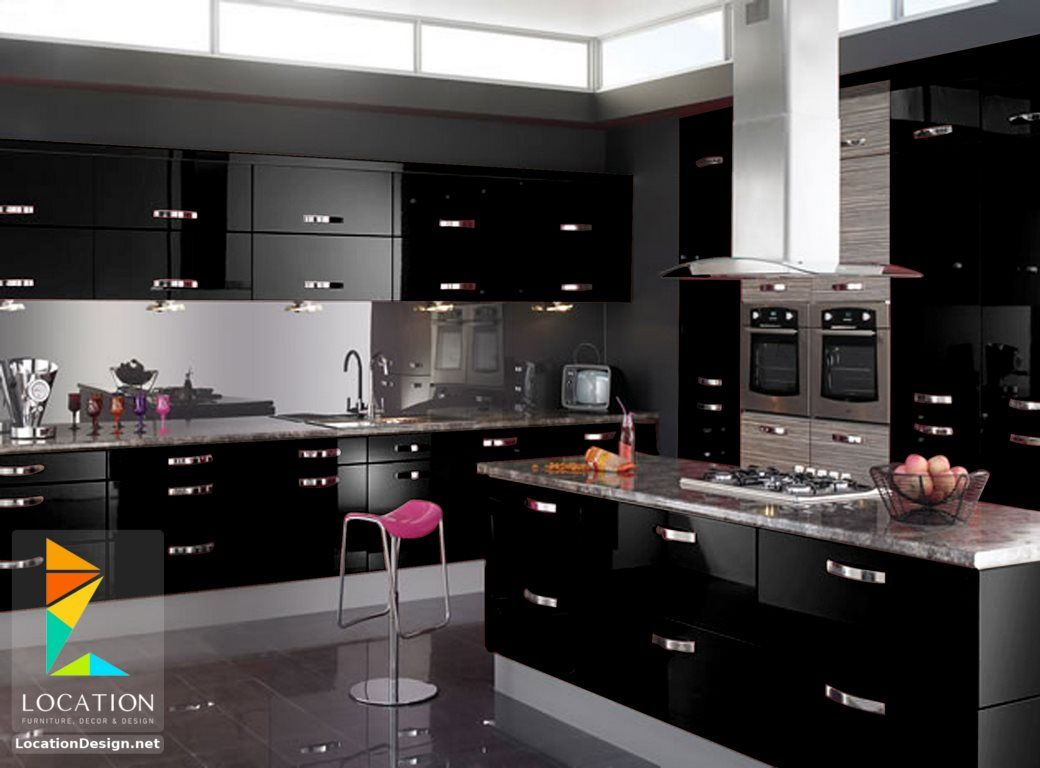 مطابخ 2018 2019 اسماء انواع المطابخ لوكشين ديزين نت Gloss Kitchen Cabinets Kitchen Cabinets Buy Kitchen Cabinets
