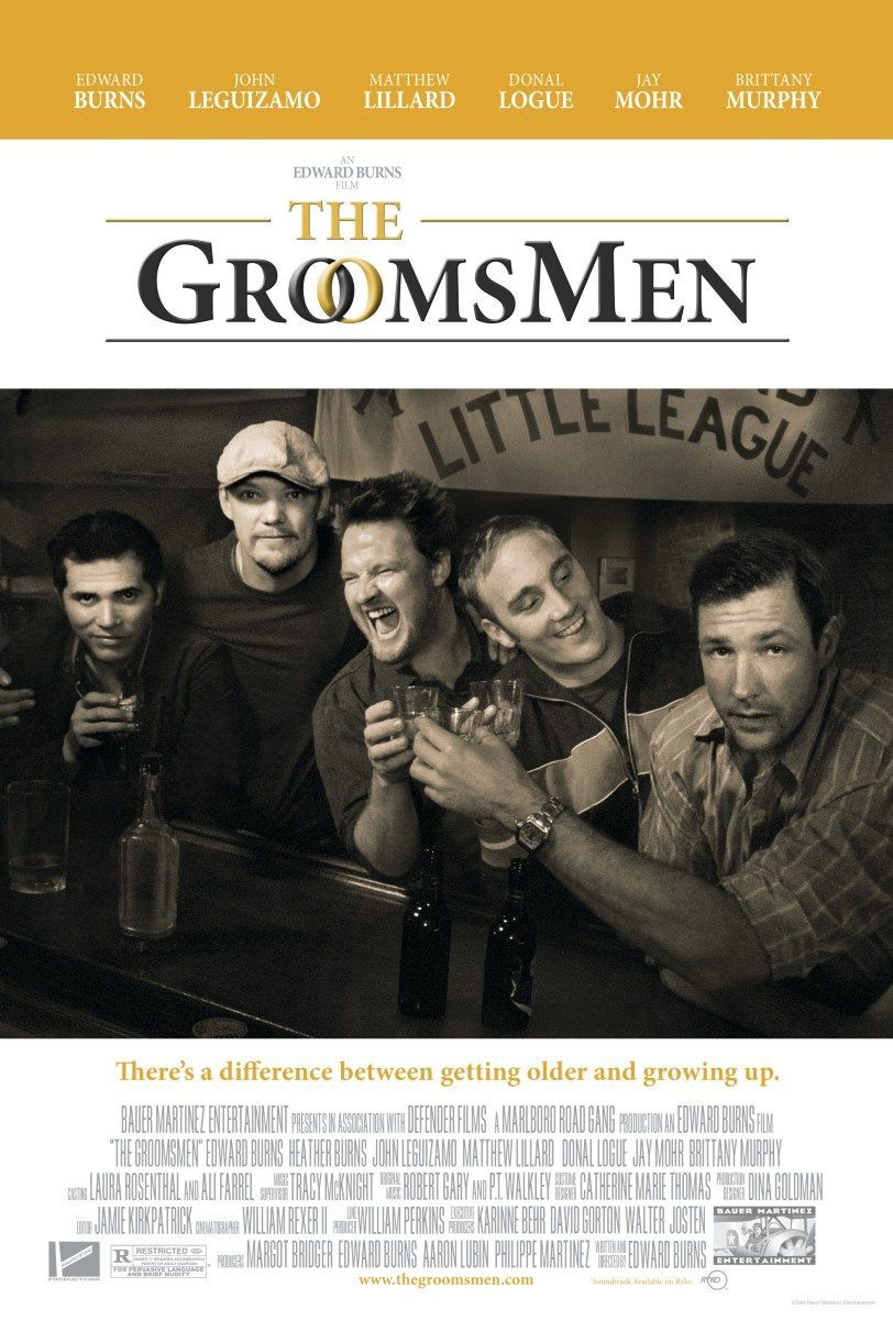 Now Playing The Groomsmen 2006 Wedding Movies Movie Posters Edward Burns