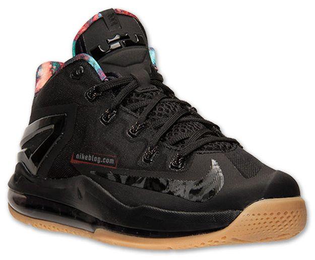 size 40 29d0a 92a20 Nike LeBron 11 Low Black/Hyper Crimson-Hyper Cobalt. Galaxy!! | My ...
