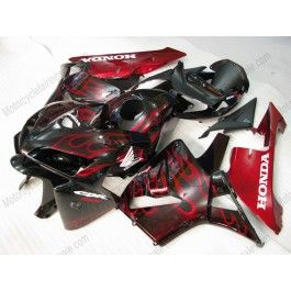 Honda CBR 600RR F5 2005-2006 Injection ABS Fairing - Red