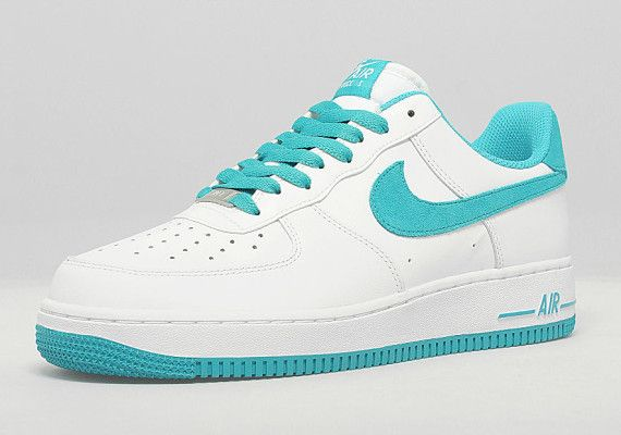 Nike Air Force 1 Low White Teal | Nike