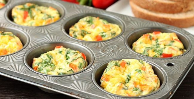 kahvaltılık muffin nasıl yapılır