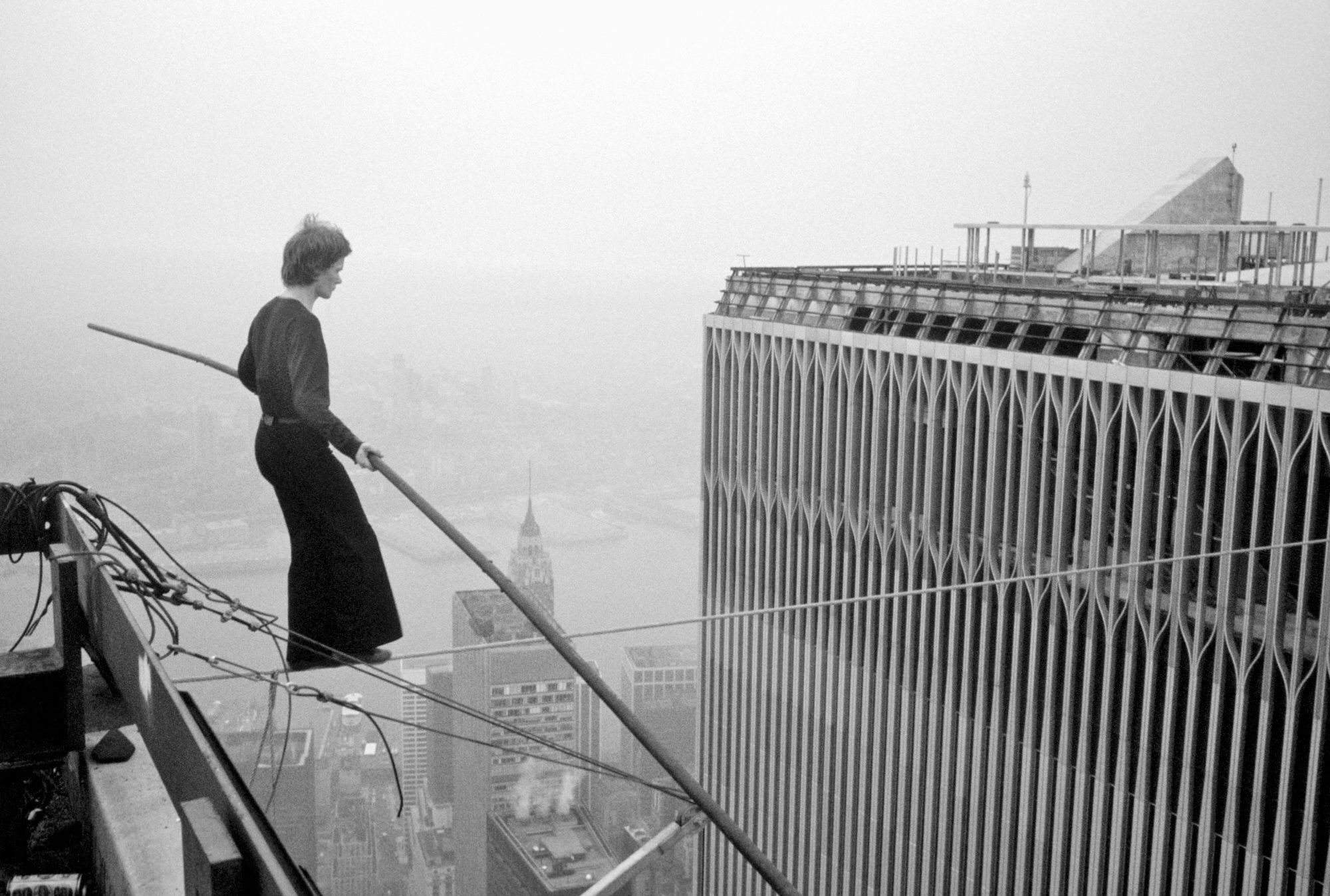 wire walker between the twin towers | oh ya! | Pinterest