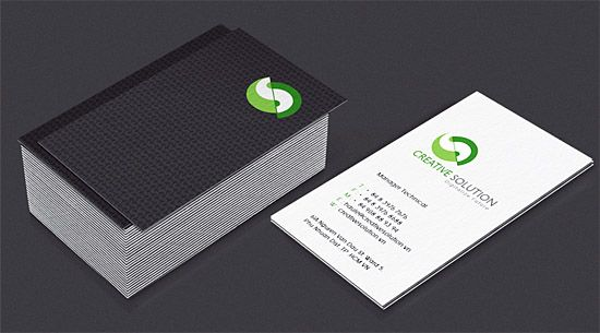 business card design card creative business solutions rabbitcom part 2 best business cards