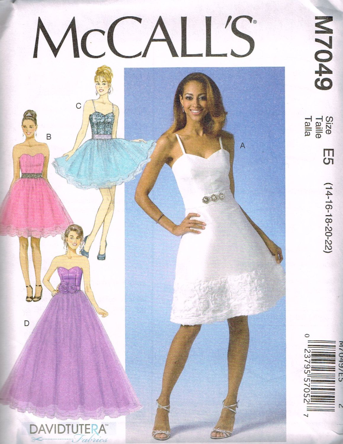 McCall\'s M 7049, Sewing Pattern, Misses\' Dresses by David Tutera ...