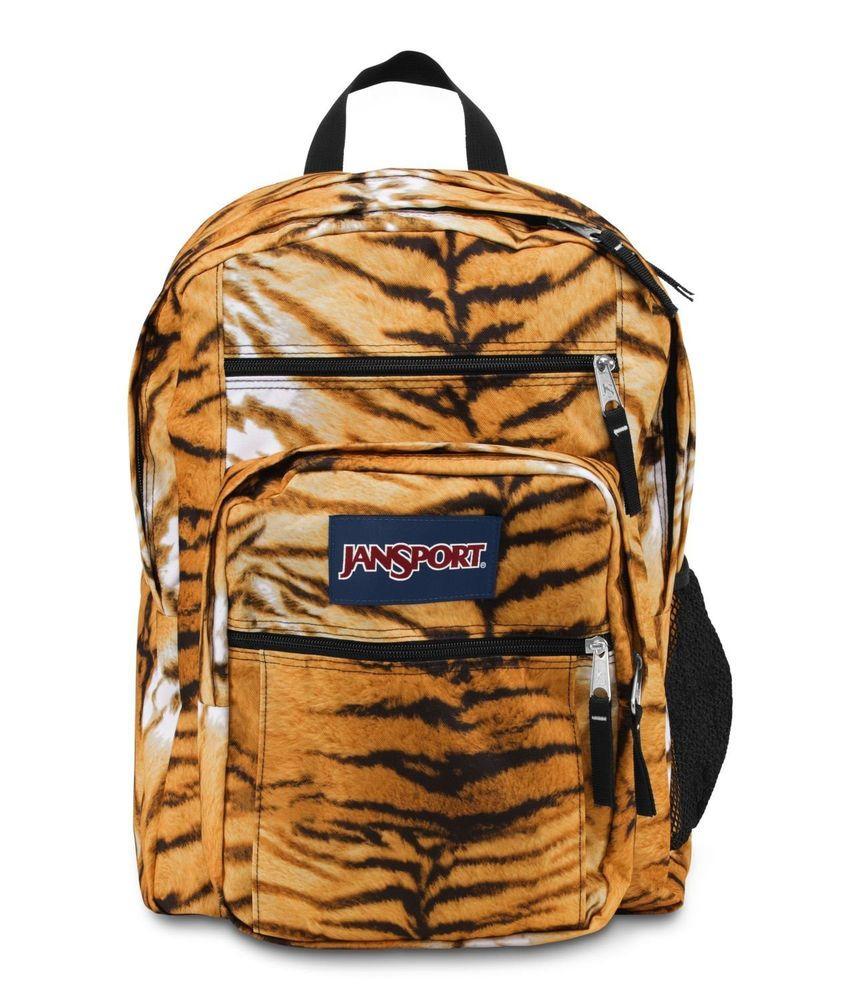 35dc1a7b1b3 JANSPORT BIG STUDENT BACKPACK SCHOOL BAG - Multi Tiger Lily ...