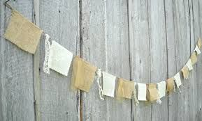 pink ivory burlap wedding bunting - Google Search
