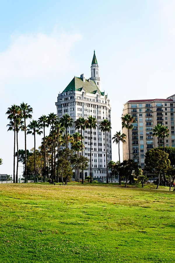 Before The Circle Building Was Built Long Beach California Long Beach California