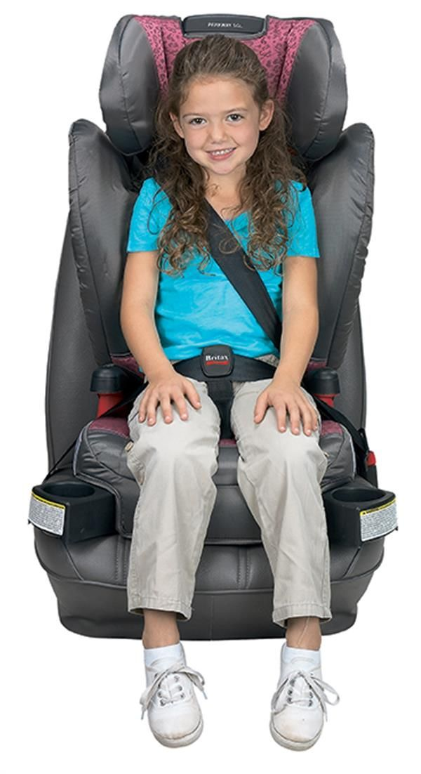 The Britax Parkway Sgl Belt Positioning Booster Seat