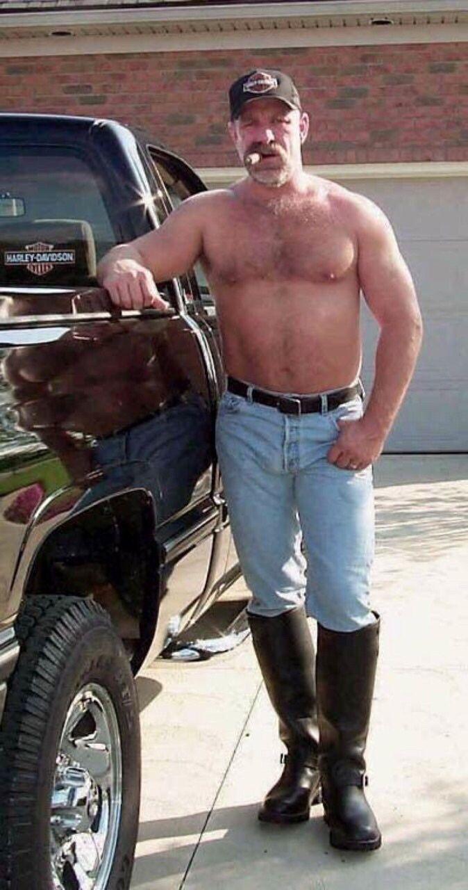 hot redneck men smoking