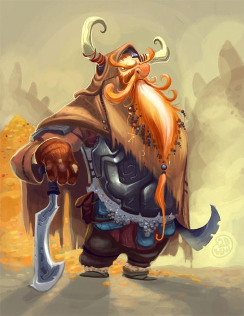 creaturesfromdreams:  Thorin by Brett Bean