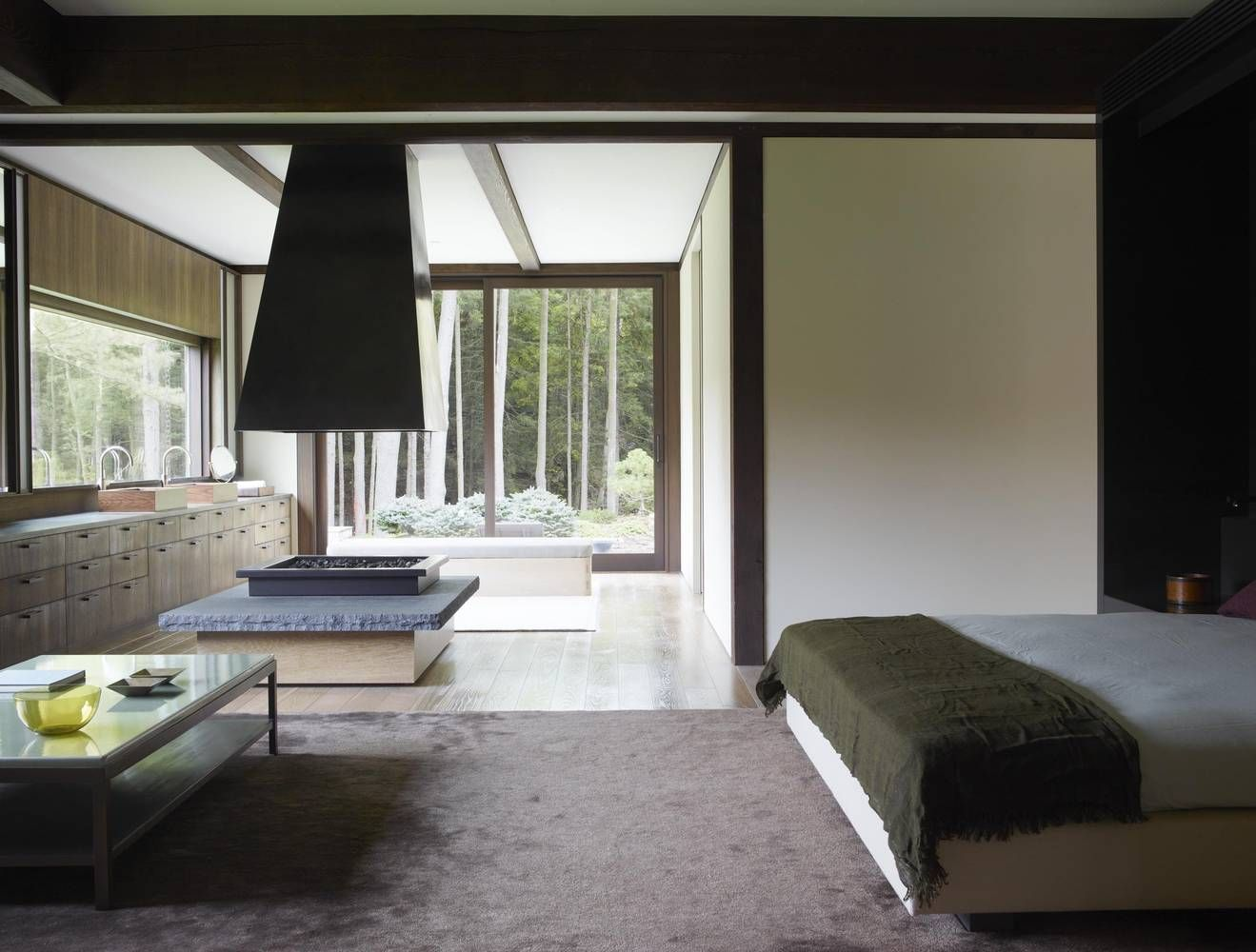 Pound Ridge House By Tsao Mckown Architects Home Asian Home