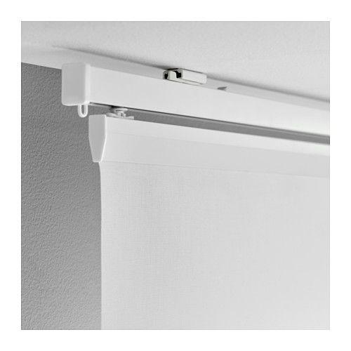 Vidga Ceiling Bracket White Ikea Curtain Rods Ikea Curtains