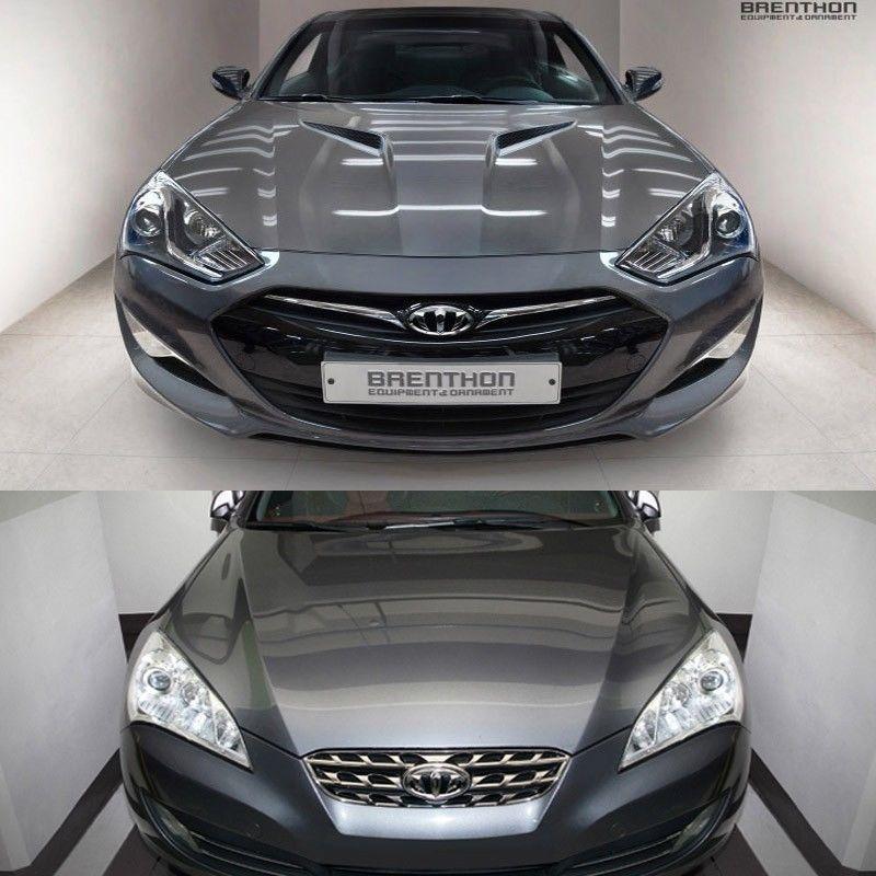 Brenthon Front Rear New Emblem Chrome For Hyundai Genesis Coupe Hyundai Genesis Hyundai Genesis Coupe Hyundai