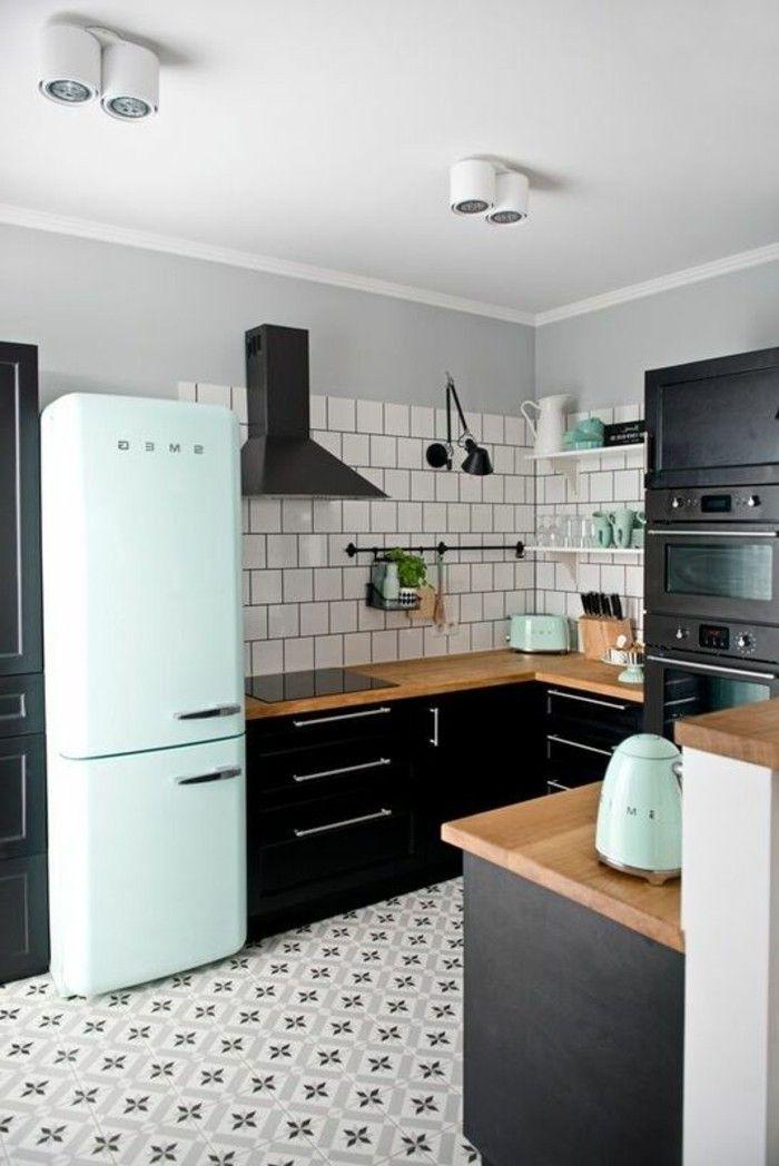 Pin do a ben em cuisine carrelage ancien cuisine r tro moderne e d co maison - Cuisine retro moderne ...