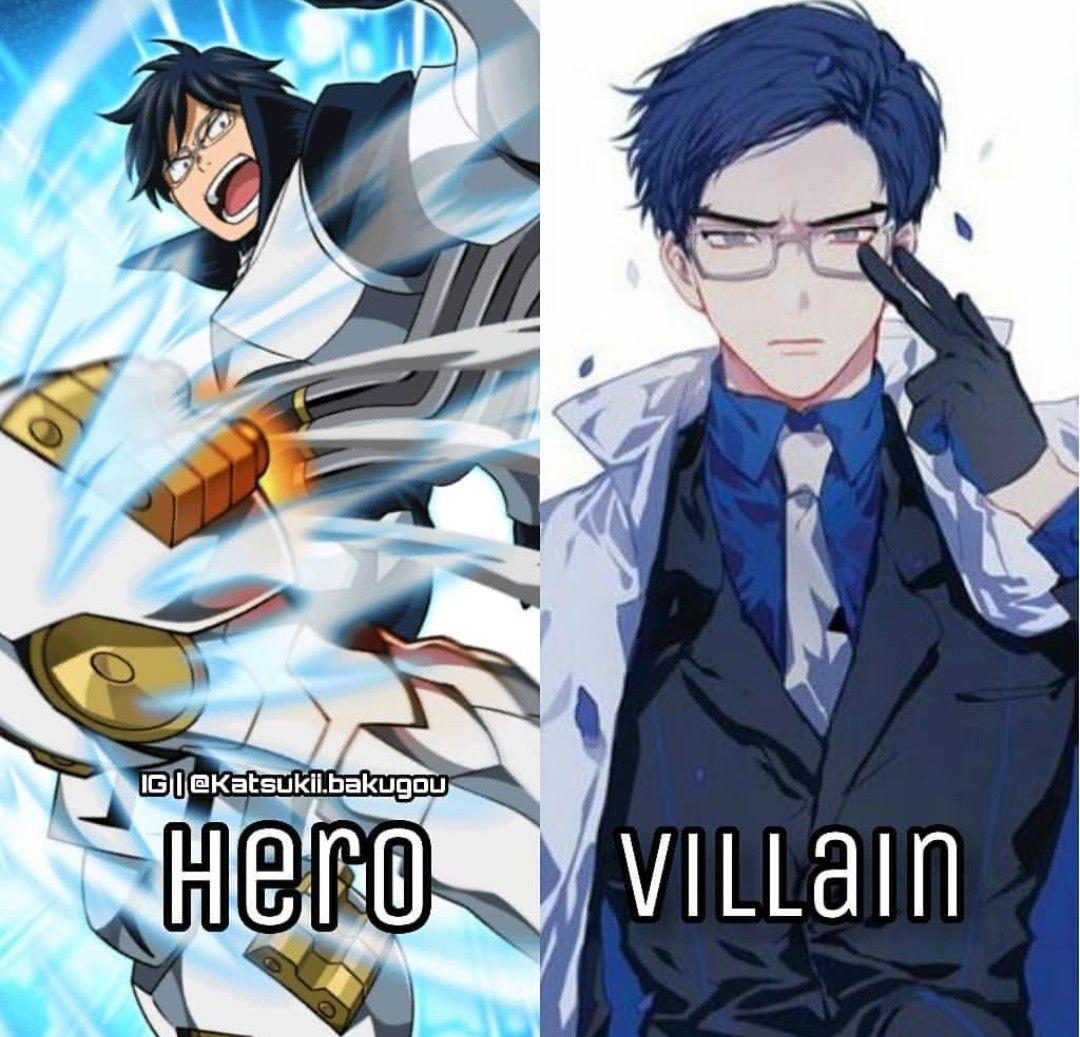 Hero and Villain Iida | Boku no Hero Academia | My hero academia
