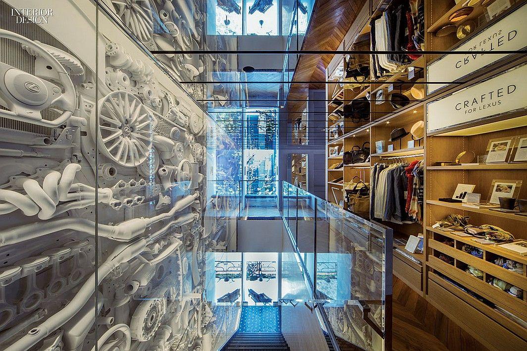 Car Culture Intersect By Lexus Tokyo By Wonderwall Car Showroom Design Interior Design Magazine Retail Space Design