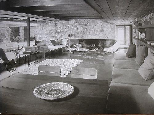 Upton residence. 1950. Scottsdale, Arizona. Schweikher and Elting