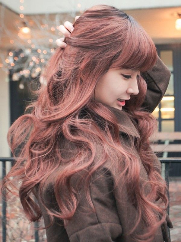 Korean Color Hairstyle 10 Hair Pinterest Korean Hair Style