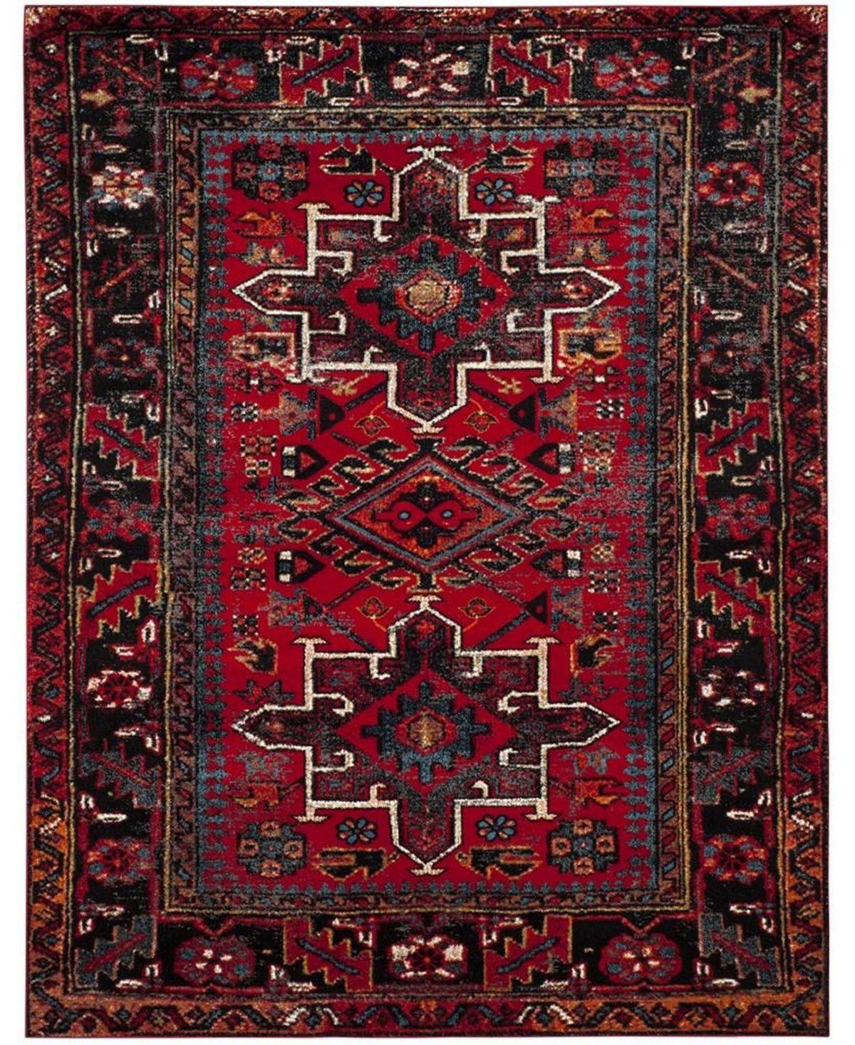 Safavieh Vintage Hamadan Red And Multi 9 X 12 Area Rug Reviews