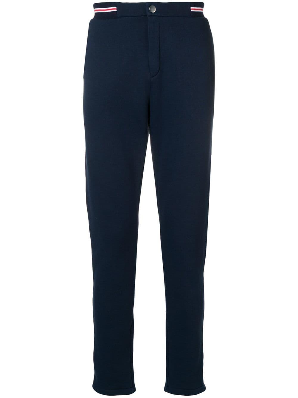8dbb966432 RON DORFF RON DORFF STRIPED WAIST URBAN TROUSERS - BLUE. #rondorff #cloth