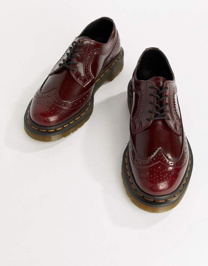 Dr Martens Vegan 3989 Cherry Leather