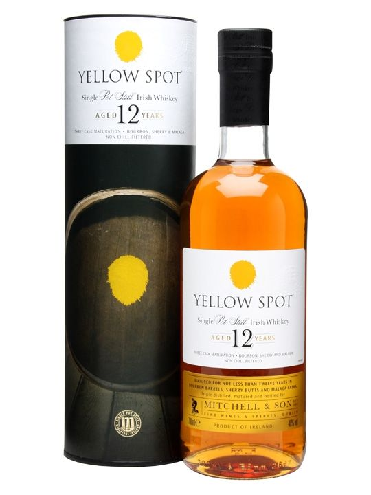 Yellow Spot 12 Year Old Irish Whiskey Brands Irish Whiskey Whiskey