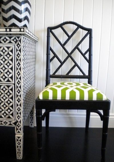 Black With Colorful Upholstery Furniture Re Fab In 2019