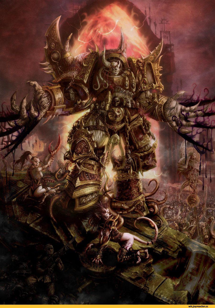 Warhammer Chaos Demons Art Imgurl