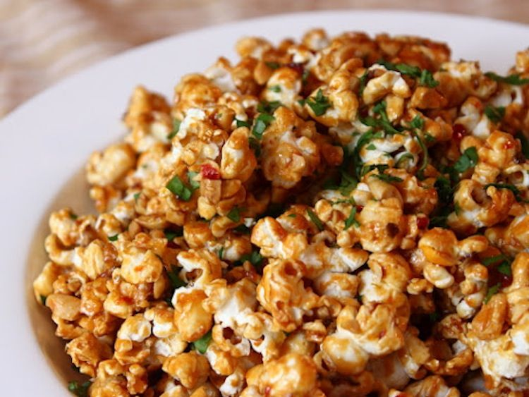 Congrats bgs pad thai popcorn from food wishes appetizers food wishes video recipes pad thai popcorn how five seconds of late night tv changed the future of caramel corn forumfinder Image collections