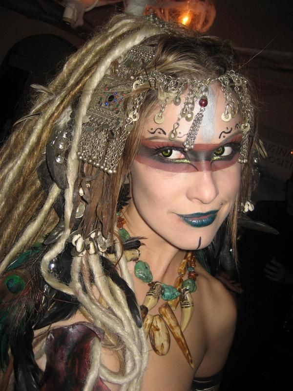 Exotic Tribal Witch - Google Search | Face Paint U0026 Makeup | Pinterest | More Exotic Witches And ...