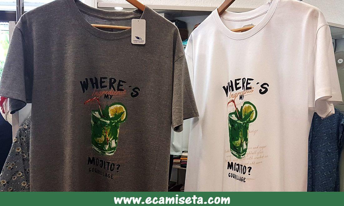 Camisetas personalizadas. Camisetas promocionales. Camisetas publicitarias.  Camisetas mojito. Mojito. Camisetas serigrafiadas. Serigrafia digital. f87954a61d76