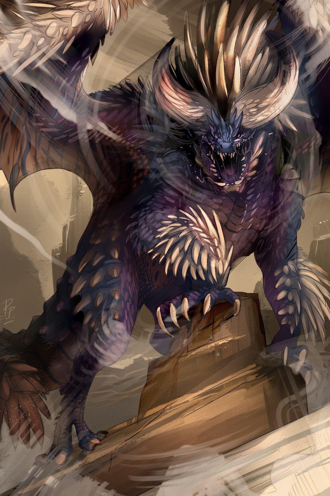 Nergigante Monster Hunter Monster Hunter Art Monster Hunter World