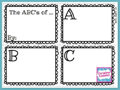 image about Alphabet Book Printable named Cost-free Printable ABC E-book TpT Free of charge Courses Clroom