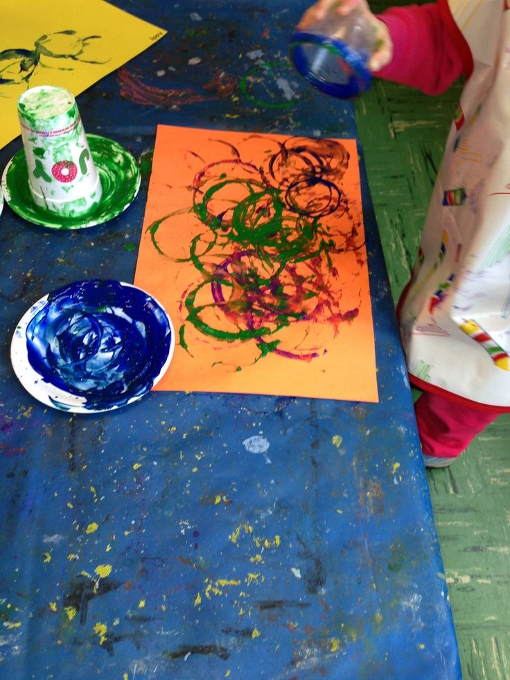 Art for 3 year olds circle art in action art projects