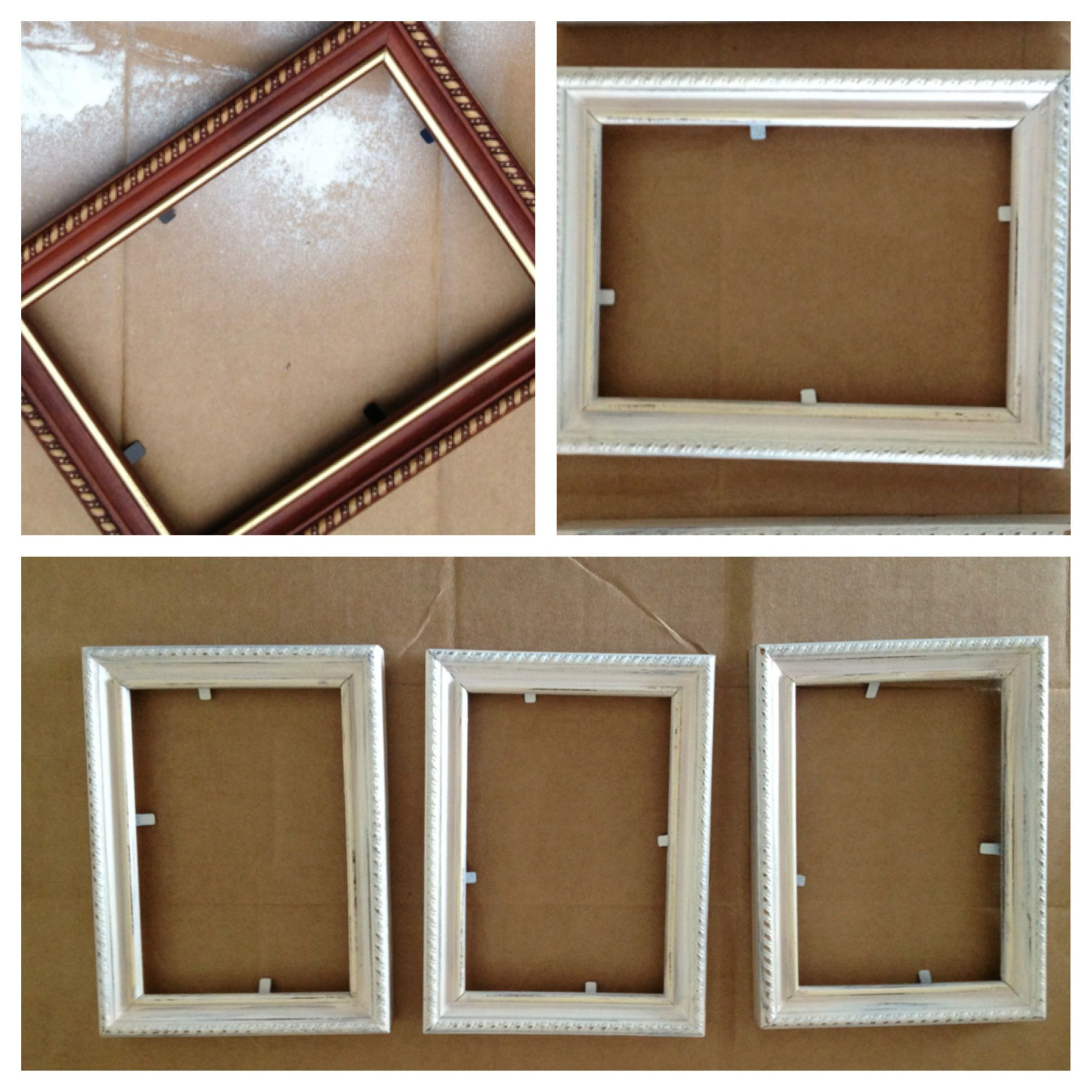 Distressed Frames  Diy I Bought 3 Of These Dated,