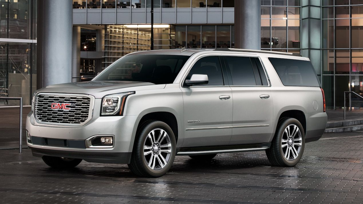 Exterior Image Of The 2018 Gmc Yukon Denali Full Size Luxury Suv