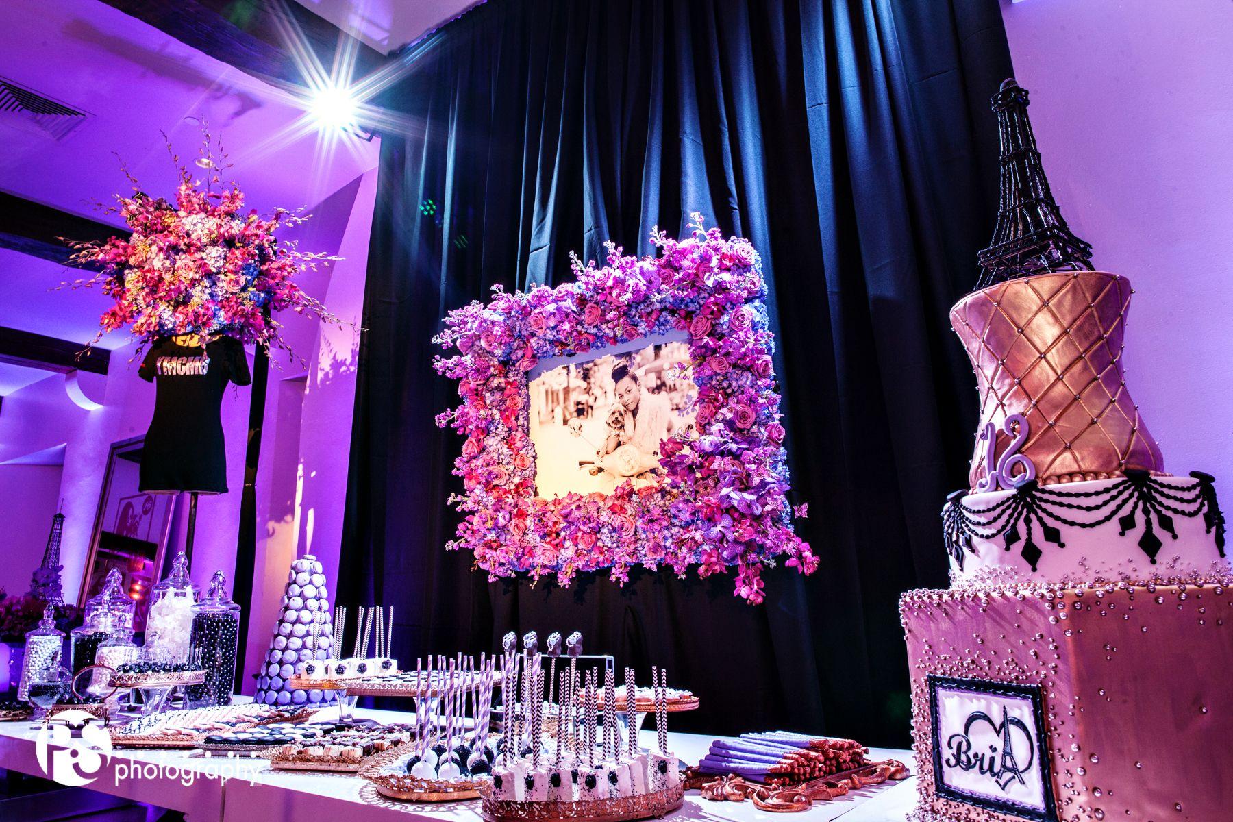 Jennifer J Events, Celebrity Sweet 16, YMCMB, Sweets Table ...