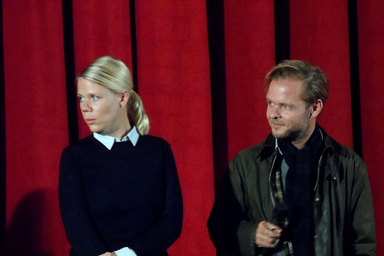 Hamburg Premiere Finsterworld Am 15 10 2013 Im Abaton Regisseurin Frauke Finsterwalder Und Drehbuchautor Christian Kracht Christian Kracht Regisseur Drehbuch