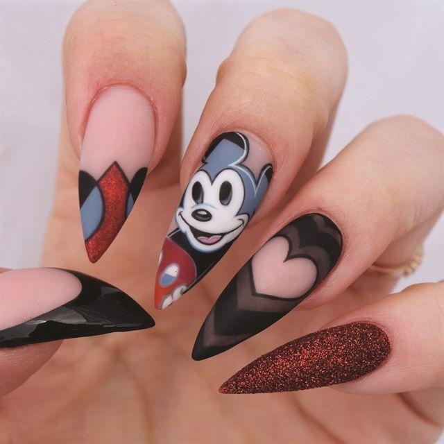 Salon-Modded Nails: Award-Winning Nail Art Made Wearable | Mickey ...