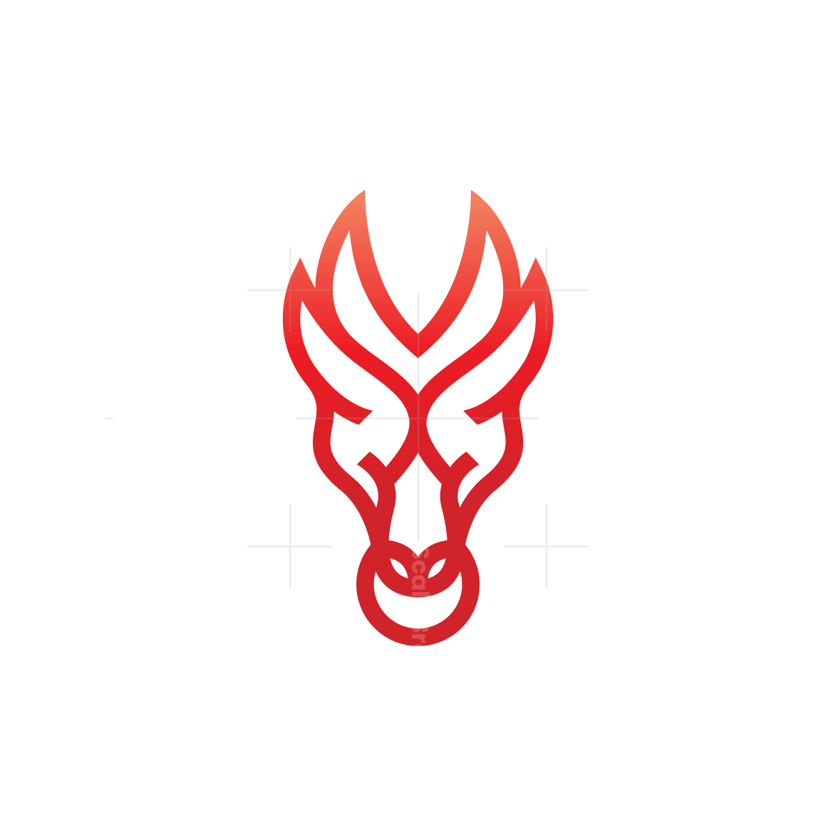 Dragon Logo Dragon Head Logo Logo Dragon Dragon Head Monogram Logo
