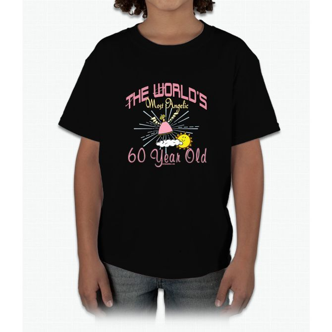 Angelic At 60 Young T-Shirt